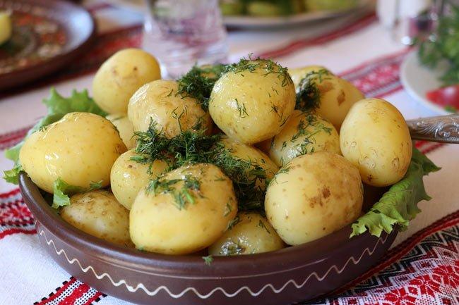 gotowanie ziemniakow